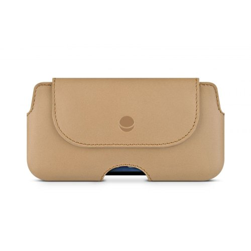 Beyzacases The Hook Ledertasche Camel für Apple iPhone 5 /  5S / 5C