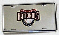 (Rico Washington Nationals MLB 3D Logo License Plate)