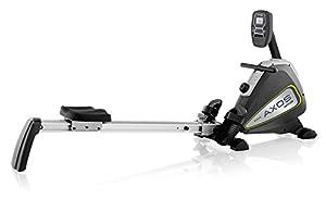 Kettler Rudertrainer Axos Rower, Grau/Gelb, 07985-895