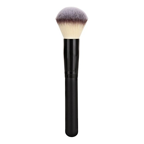 CINEEN Professional Makeup brushes Puderpinsel Blusher Brush Foundation Großen Pinsel-Werkzeug Super Weich(Black 1)