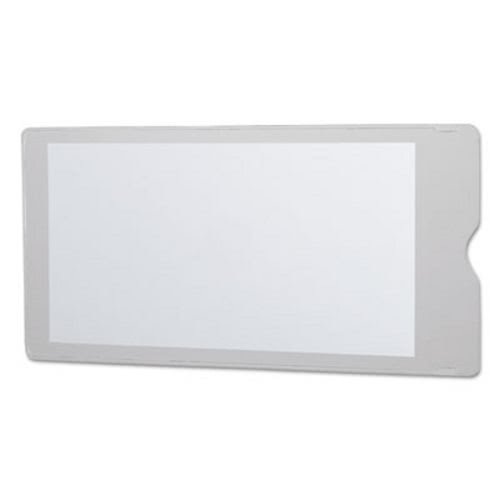 Oxfordamp;reg; - Utili-Jacs Heavy-Duty Clear Vinyl Envelopes, 4 x 9, 50/Box - Sold As 1 Box - Thumb notch at top.