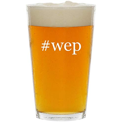 Price comparison product image #wep - Glass Hashtag 16oz Beer Pint