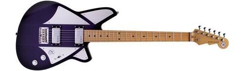Reverend BC-1 Billy Corgan Signature Electric Guitar Satin Purple Burst