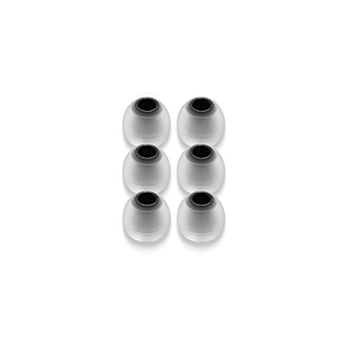 RHA Dual Density Silicone Tips for Earphone - 3 pairs (Large)