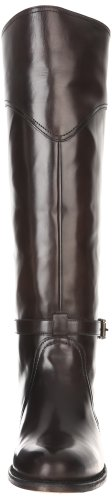 Frye Veg 77568 Riding Polished Boot Smooth Women's Smoke Dorado naFnS4
