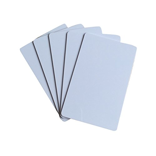 ISO15693 13.56mhz I Code 2 Card Blank iCode SLI White RFID Card (Pack of 100)