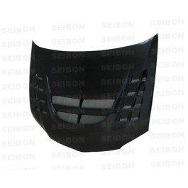 SEIBON 03-07 Lancer Evo 8/9 Carbon Fiber Hood CWII 05
