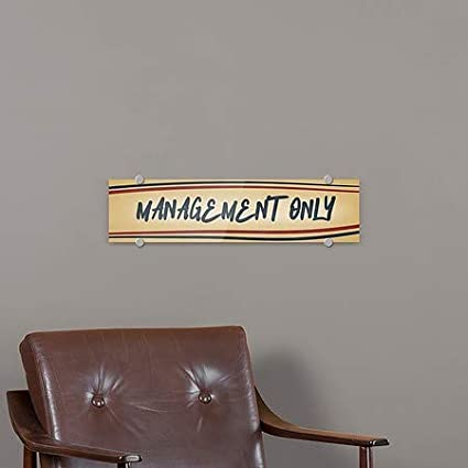 Nostalgia Stripes Premium Acrylic Sign Management Only CGSignLab 24x6 5-Pack