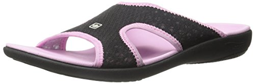 Sandal Black Women's Slide Spenco Pink Breeze Ax6qtw4
