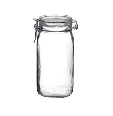 Einmachglas Vorratsdose Glasdose mit Bügelverschluss für 1,5 Liter