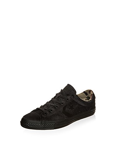 Converse Star Player Premium Suede Ox Homme Baskets Mode Noir