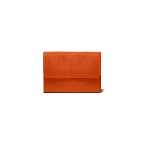 Cuir Orange LucrinPorte Monnaie Dame Lisse eWEH9IYbD2