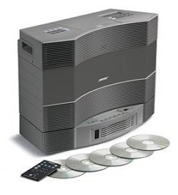 (Bose Acoustic Wave Music System II and Wave Multi-Disc Changer II - Titanium Silver)
