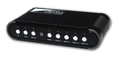 Accell K072C-010B UltraAV 5x1 Audio/Video HDMI Switch
