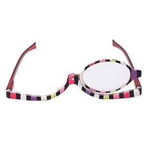 Onpiece Makeup Magnifying Glasses,Folding Eyeglasses +1.0~+4.0 (250)