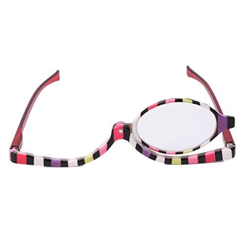 nbsp;pcs 4 1 0 007 Maquillage pliante nbsp;~ nbsp; 350 Loupe lunettes Lunettes 1 verre de Rawuin de 0 en lecture Zqd5O