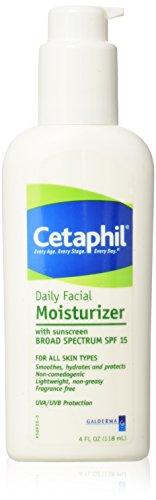 l Moisturizer with sunscreen BROAD SPECTRUM SPF 15, 4 oz ()