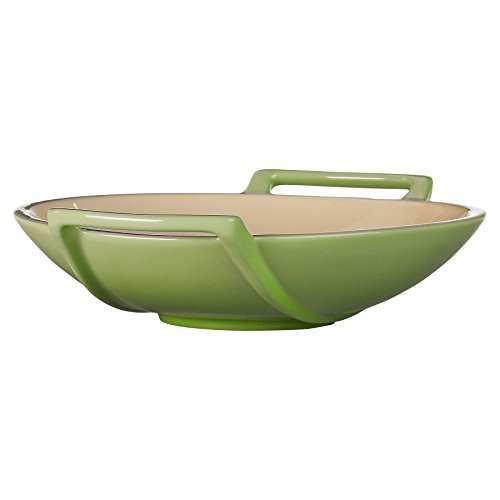 Le Creuset Stoneware Wok Dish, 28-Ounce, Palm