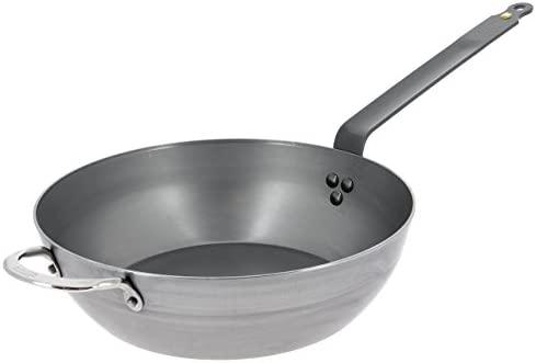 DE BUYER 5614.32 - Cacerola (Single Pan, Plata, Metal, 32 cm, 2,26 kg)