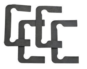 C.R. LAURENCE P1NGASK CRL Black Gasket Replacement Kit for Pinnacle Hinges by C.R. Laurence