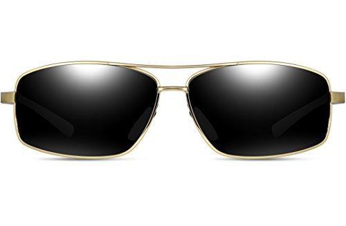 ATTCL hombre de Dorado sol Gafas para RwRYxAP