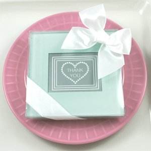glass photo coasters baby shower gifts wedding favors set of