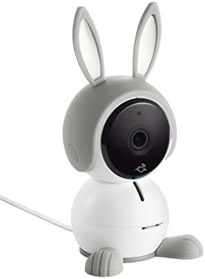 NETGEAR Arlo Baby Monitor | Smart WiFi Baby Camera 1080P HD with 2-way Audio, Night Vision, Air Sensors, Lullaby Player, Night Light, Works with Amazon Alexa, HomeKit (ABC1000)