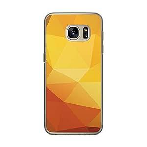 Loud Universe Samsung Galaxy S7 Geomaterical Files A Geo 21 Transparent Edge Case - Multi Color