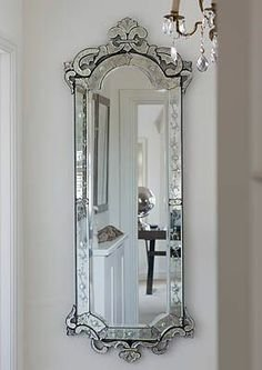 Buy Venetian Design Glass Wall Mirror 60 X 30 Inch Silver Online At Low Prices In India Amazon In
