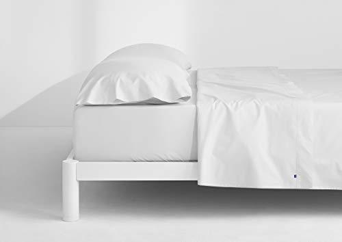 Casper Soft and Durable Supima Cotton Sheet Set, King, White/White