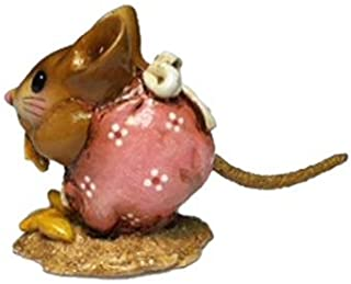 product image for Wee Forest Folk NM-1 Nibble Mouse (Sweet Rose)