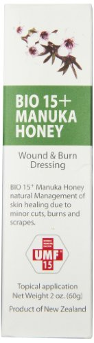 UMF 15+ Manuka Honey Wound and Burn Dressing, 2 Ounce Tube ()