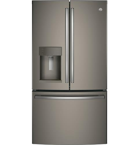 GE GFE28GMKES 36″ Freestanding French-door Refrigerator with 27.8 Cu. Ft. Capacity, in Slate