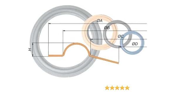 Anillos de gomaespuma para reparación de altavoces (20 cm): Amazon.es: Electrónica
