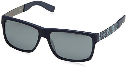 Black BO mm Orange Fl Antcblazu Unisex With Azul Boss 59 Gafas 0196 Sol Bl de Lens CUxwPq