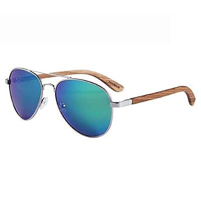 FeliciaJuan Wood Sunglasses Polarized for Men and Women Blocking 100% UV