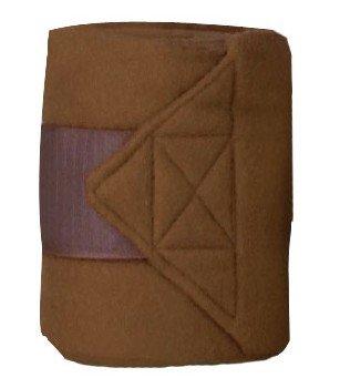 (HKM Fleece Dressage Polo Exercise Bandage Comes as a Set of 4 Choice of Colours)