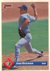 Amazoncom 1993 Donruss Baseball Card 687 Jose Guzman Mint
