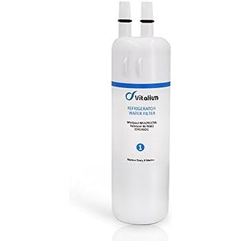 kenmore 9081. w10295370a w10295370 vitalium refrigerator water filter 1 edr1rxd1 p4rfwb kenmore 46-9930 46- 9081 g