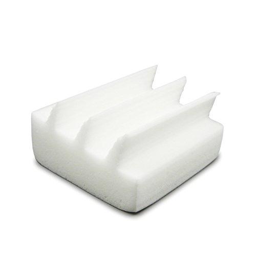 Éponge professionnelle ROGGE puissante pour nettoyage du clavier – à base de matériau blanc MELAMINESCHAUM