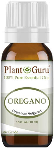 Oregano Essential Oil 10 ml (Origanum) 100% Pure Undiluted Therapeutic Grade. (Honey Lemon And Olive Oil For Cough)