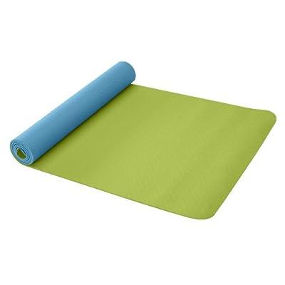 Gaiam Eco Reversible Yoga Mat (Peacock)