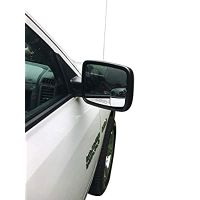 Beech Lane Blindspot Mirror Two-Pack For 2009-18 Dodge Ram Trucks, Custom Fit For Ram Non Towing Mirrors,Chrome Glass Prevents Glare and Blemishes, Authentic 3M Adhesive: Automotive