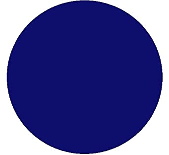 Kwik-Cover 36-B 36'' Round Kwik-Cover- Blue Fitted Table Cover (1 full case of 100)