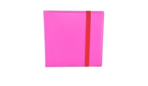 Pink Dex Protection Binder 12 Pocket Card Storage Binder