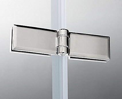 80x185cm Duschabtrennung Duscht/ür Nischent/ür Dusche Dreht/ür NANO Duschwand