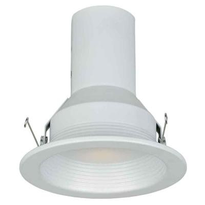 Commercial Electric 5 in. White Baffle Trim (6-Pack)
