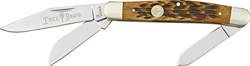 Boker 110726  Traditional Series Stockman Brown Jigged Bone Handle Pocket Knife (Best Brands In Germany)