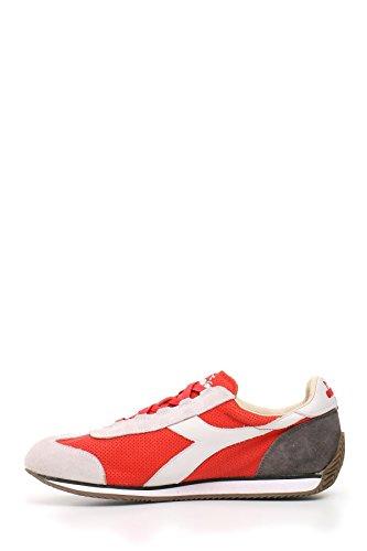 Diadora Heritage Herren MCBI094015O Rot Wildleder Sneakers