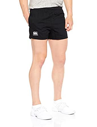 canterbury Men's Rugged Drill Short Senior (New Fit), Black, 26